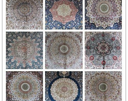 Material used in Carpets..their Significance.